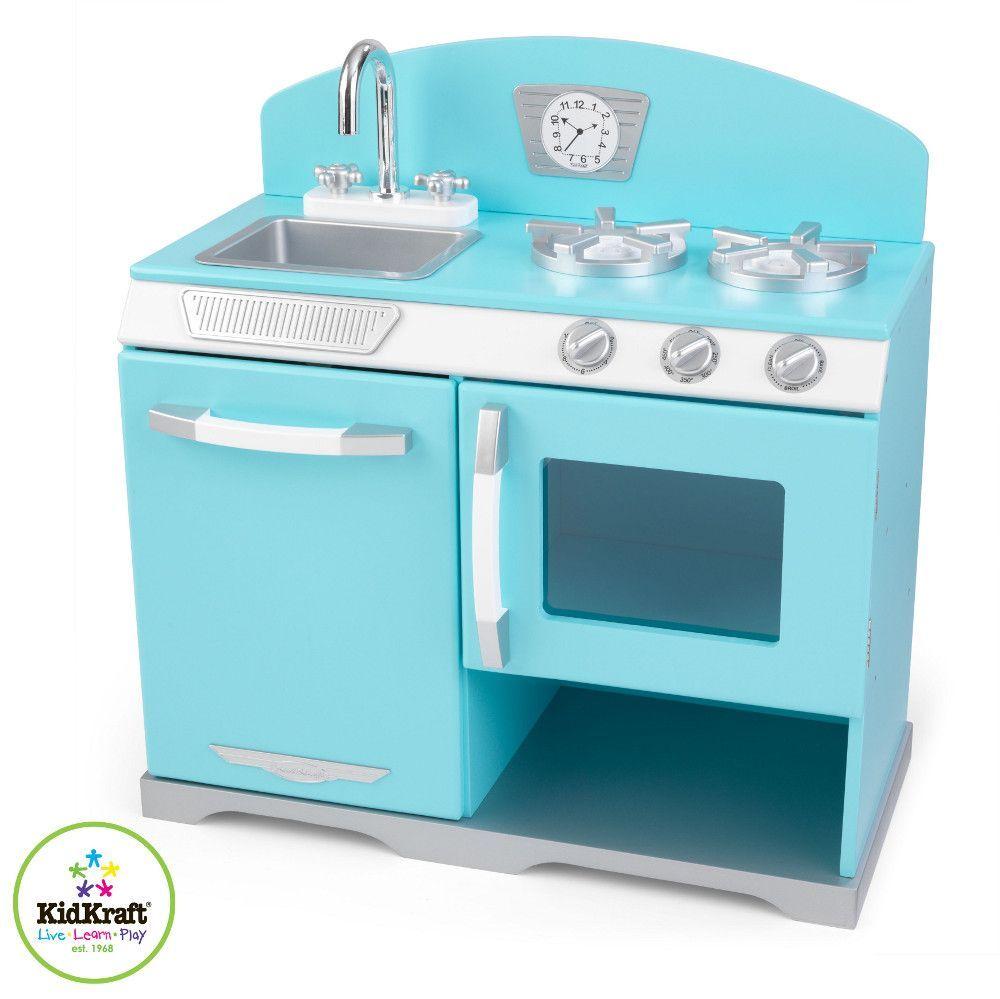 Cuisine pour enfant retro cuisine vaisselle kidkraft for Cuisine kidkraft retro