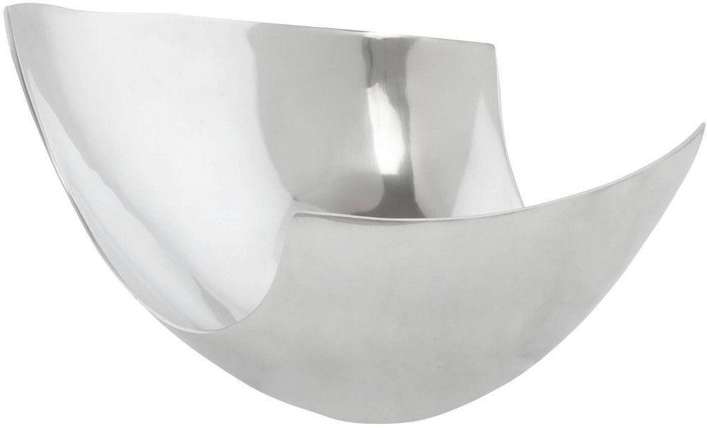 coupe fruits design pure en aluminium poli 35x26x23cm plateau plat kokoon design sur. Black Bedroom Furniture Sets. Home Design Ideas