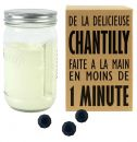 Bocal fabrication chantilly maison 1 minute Creazy