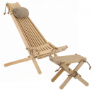 Chilienne scandinave avec repose-pieds