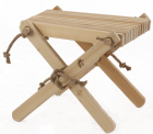 Chilienne scandinave avec repose-pieds - ECO-0109