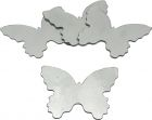 Sticker miroir Papillon (Lot de 4)