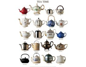 Affiche Tea time 40x50 cm