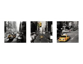 Affiche Yellow Cabs New York