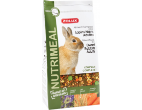 Aliment complet pour lapin nain adulte Nutrimeal (800 gr)