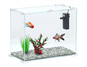 Aquarium avec filtre Nanolife first 24 (Blanc)