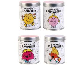 Bougies senteur Bubble-gum Monsieur Madame (Lot de 4)
