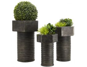 Cache-pots Boulon (Lot de 3)