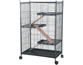 Cage pour rongeurs Indoor max loft (Rose pastel)