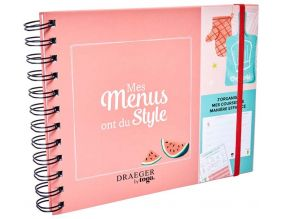 Carnet menu et courses Menu planner