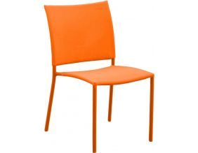 Chaise de jardin Bonbon pour enfant (Lot de 4) (Orange)