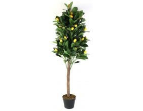 Citronnier artificiel en pot 120 cm