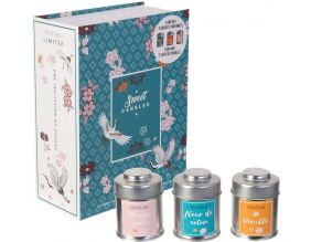 Coffret 3 bougies Sweet candles