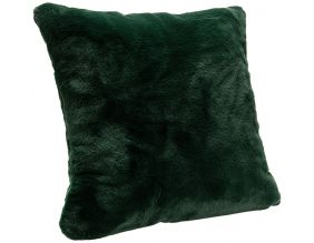 Coussin fausse fourrure Luxe 50 x 50 cm (Forêt)