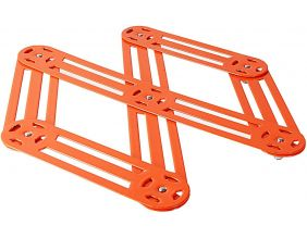 Dessous de plat extensible 6 branches (Orange)