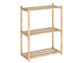 Etagère en kit Natura tablettes de 30 cm (3 tablettes)