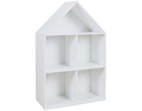 Etagère maison en bois 4 cases Paul