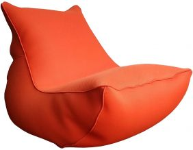 Fauteuil lounge Big Bag de piscine (Paprika)