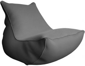 Fauteuil lounge Big Bag de piscine (Anthracite)