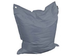 Grand coussin uni Maxi XL (Gris Anthracite)