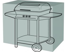 Housse de protection barbecue rectangulaire (155 cm de long)