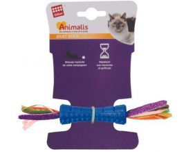 Jouet chat Stick coloré plume double