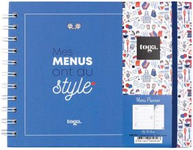 Kit menus et liste de courses Menu planner frenchy