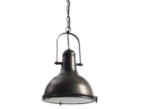 Lampe suspension metal (Diamètre 33cm)