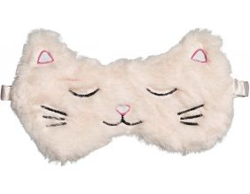 Masque de nuit Chat rose