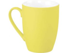 Mug en céramique So soft (Jaune)