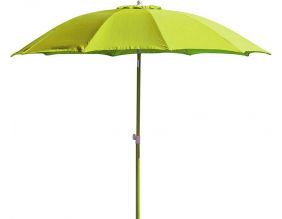 Parasol rond inclinable aluminium 2,70m (Lemon)