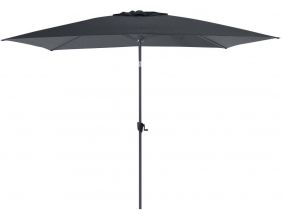 Parasol terrasse inclinable 3x2 m (Gris)