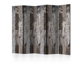 Paravent 5 volets - Marble Mosaic II [Room Dividers]