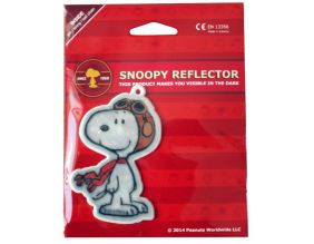 Personnage réfléchissant Snoopy (Snoopy Pilote)