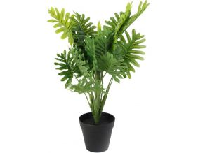 Philodendron artificiel en pot 45 cm