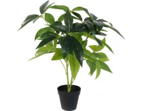 Plante verte artificielle en pot 60 cm