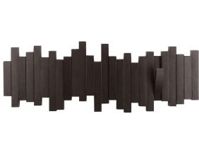 Porte manteau design mural Sticks (Expresso)