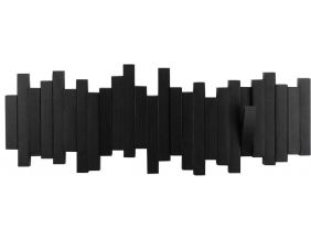 Porte manteau design mural Sticks (Noir)