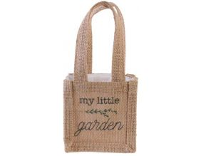 Sac à plantation en jute plastifiée My Little Market (10 cm)