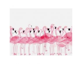 Set de table en vinyle Flamants roses (Unitaire)