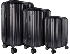 Set de 3 valises rigides Londres