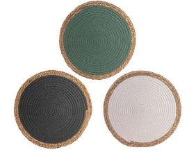 Sets de table jonc de mer 38 cm (Lot de 3)