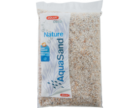 Sol décoratif Aquasand naturel quartz blanc 1kg