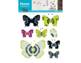 Sticker mural papillon