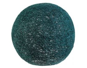 Suspension boule colorée 30 cm (Bleu)