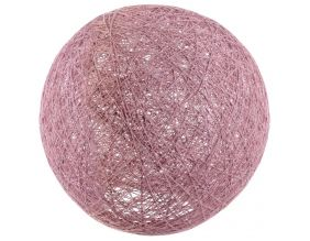 Suspension boule colorée 30 cm (Rose)