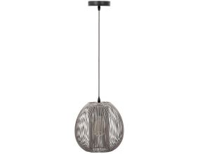 Suspension boule filaire 26 cm Maia (Gris)