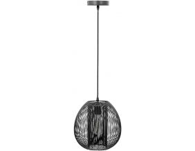 Suspension boule filaire 26 cm Maia (Noir)