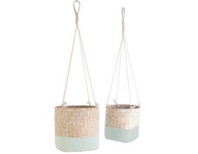Suspension en jonc de mer My Little Market (Lot de 2) (Vert)