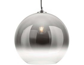 Suspension en verre Bubble (Chrome)